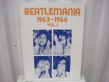 The Beatles Beatlemania 1963-1966 Vol. 1 Sheet Music Song Book Songbook