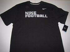 Nike Football Dri-Fit Performance T-Shirt Black/White Men's Xl Bnwt!