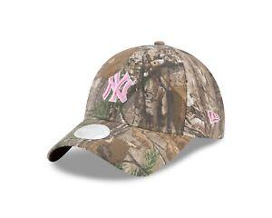 New York Yankees New Era Women's Realtree Pink 9TWENTY Adjustable Hat
