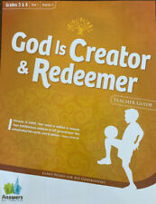 Answers Bible Curriculum: Teacher Kit- Yr 1, Qtr 2 Gr 5&6 'God Is Creator...'