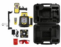 AdirPro RB Rotary Automatic Self Leveling Rotary Laser level w LD-8 Detector