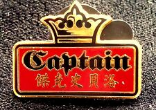 Disney Pirates of the Caribbean World's End Jack Sparrow Captain Mini Pin