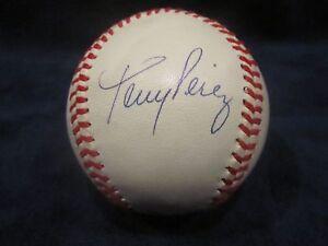 Tony Perez Autographed Official National League (Giamatti) Baseball - JSA Cert