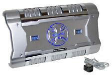 Brand X Xflsq588X2 588W Bridgeable 2-Channel Mosfet Amplfier W/ Level Control