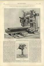 1900 Kendall And Gent Plano Milling Machine