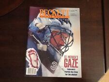 Patrick Roy Cover Beckett Hockey Monthly November 1996 Issue #73