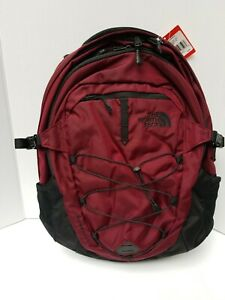 North Face Borealis Backpack.  Deep Garnet Red / Black
