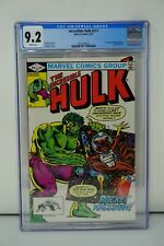 MARVEL COMICS CGC 9.2 THE INCREDIBLE HULK 271 5/82 WHITE PAGES