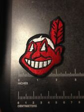 Cleveland Indians Chief Wahoo Embroidered Sew On Patch Logo Baseball