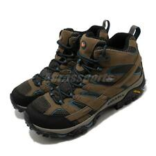 Merrell Moab 2 Mid GTX Gore-Tex Brown Blue Black Men Outdoors Hiking J034803