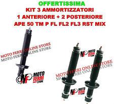 COPPIA DI AMMORTIZZATORE POSTERIORE + ANTERIORE APE 50 TM P FL FL2 FL3 RST MIX