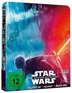 Star Wars - Teil: 9 - Der Aufstieg Skywalkers [3D+2D Blu-ray/ Steelbook /NEU/OVP