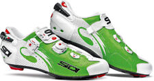 Sidi Wire Air Road Cycling Shoes White-Green Eu 43.5