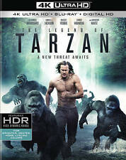NEW - The Legend of Tarzan (4K Ultra HD + Blu-ray)
