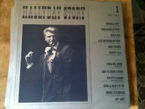 lot des 10  vinyles 33T  johnny hallyday coffret jean hallyday story