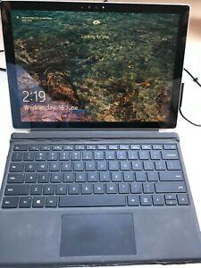 Used Microsoft Surface Pro 4 | i5-6300U | 128GB | 6th Gen | 4GB RAM | Win 10 Pro