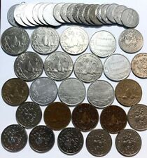 FRENCH POLYNESIA - Dealer Lot - (44) Coins