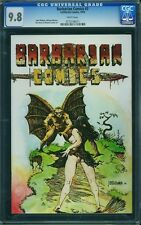 BARBARIAN COMICS #3 CGC 9.8 White Pages -- Richard Corben Artwork