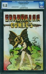 BARBARIAN COMICS #3 CGC 9.8 White Pages -- Richard Corben Artwork