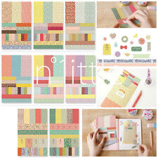 8pcs New Design Pretty Floral Labels Stickers Scrapbooking Journal Diary #SK-01
