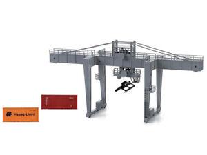 Lima HL8000 H0 Containerkran mit 2 Containern