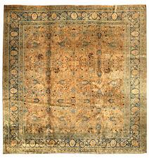 Antique Persian Tabriz Rug (size adjusted) BB4448