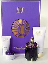 Thierry MUGLER ALIEN SET 4 pezzi Eau de Parfum * flacone dopo riempire * 30ml bl nuovo