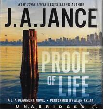 Proof of Life J.A. Jance A J. P. Beaumont Novel Audio Book