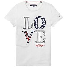 Tommy Hilfiger T-Shirt Girls Flower CN Größe 104, 116, 128, 140, 152, 164 NEU