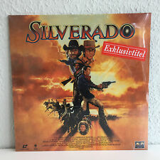 Silverado | Laserdisc PAL Deutsch Widescreen | Neu / Still Sealed / Mint