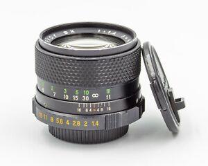Mamiya Sekor SX 55mm f/1.4 Fast Standard Prime Lens M42 Pentax Screw Mount