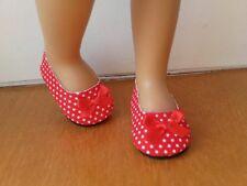 Chaussures ballerines rouge à poids pour poupée LESLIE BELLA accessoire tenue