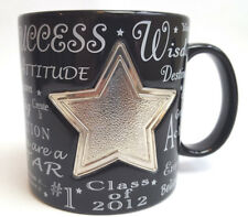 Things Remembered Black Glossy Custom Engraved Class Of 2012 Coffee Mug