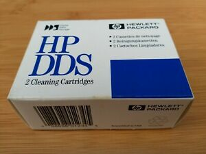 2x HP DDS Backup Cleaning Tape Cartridge x2 Brand New Sealed