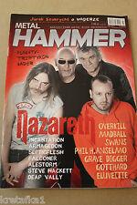 Metal Hammer 7/2014 NAZARETH, Vader, Swans, Overkill, Triptykon