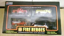 More details for corgi csfh12004 showcase collection fire heroes classic american fire app. set 3