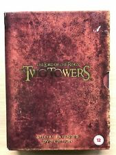 Peter Jackson's LORD OF RINGS: THE TWO TOWERS Extended 4-Disc UK DVD