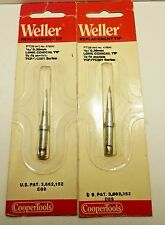 WELLER REPLACEMENT TIP /LONG CONICAL TIP/ FITS MODEL TCP/TC201 / 2 PIECES (qzty)