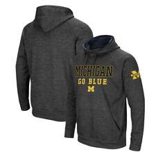 Mens Michigan Wolverines Hoodie Performance Sweatshirt Size XL Fanatics