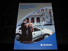 Suzuki Swift (inc. Sedan) prospekt/brochure j.polski