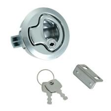 "Stainless Steel 1/2"" Door Lock 2"" Flush Pull Slam Latch For Boat Deck Hatch A2Z9"