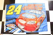 "Nascar Jeff Gordon Flag # 24 Dupont Racing Monte Carlo 42""x30"" Metal Grommets"