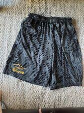Nike Lacrosse Athletic Dri-Fit Shorts Size Men's Large California Gold