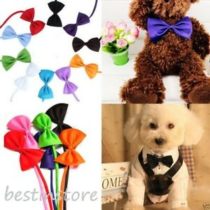 1PC Dog Cat Pet Puppy Toy Kid Cute Bow Tie Necktie 20 color IF Buy 3PC get extra