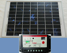 15w PV Solar Panel + 10A Auto 12v Battery Charger 15w is 50% > power then 10w UK