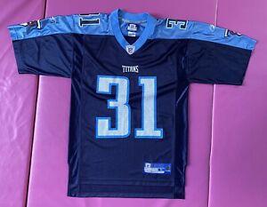 Tennessee Titans Cortland Finnegan Reebok Jersey Size S