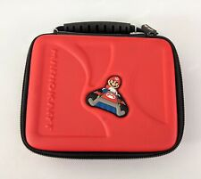 Red Mario Kart Nintendo 3DS 2DS DSi 3 DS Lite XL Systems Game Traveler Case Bag