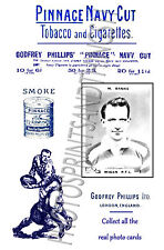 WIGAN Rugby League - Pinnace 1920's repro advertising cards