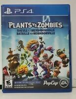 Plants vs. Zombies: Battle for Neighborville (Sony PlayStation, 2019)_PS4_Game