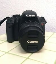 Canon EOS 600D / EOS Rebel T3i 18.0MP Digital Camera - Black ( EF-S 18-55mm)